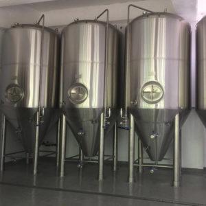 cuve de fermentation de la bière