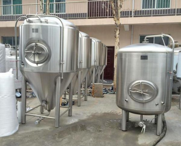 Part II: Manufacturing and shipping of 1200L beer brewery plant
