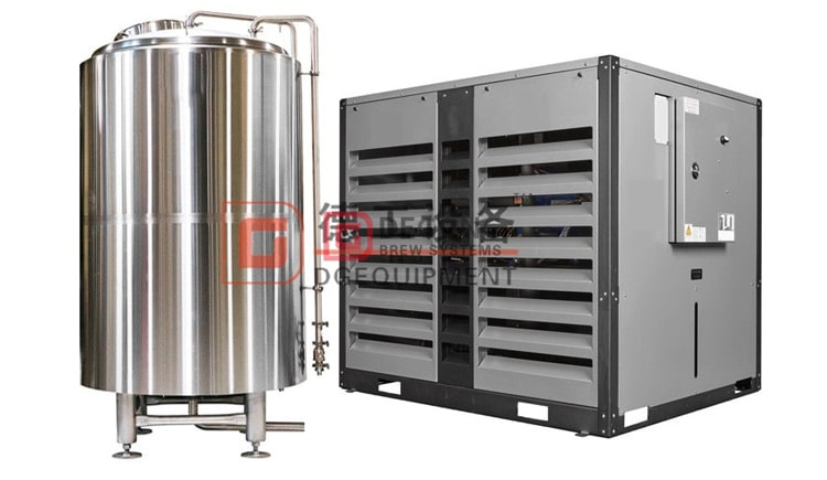 glycol water tank and chiller