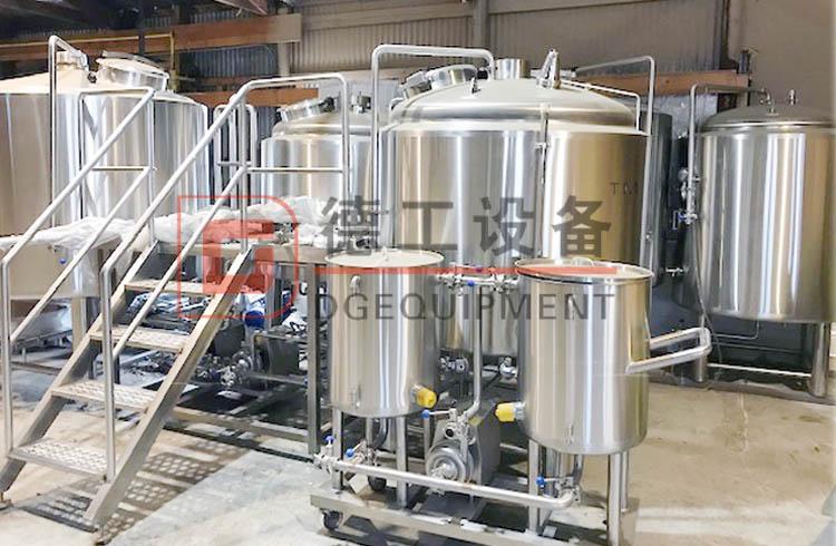 500L Turnkey brewing equipment