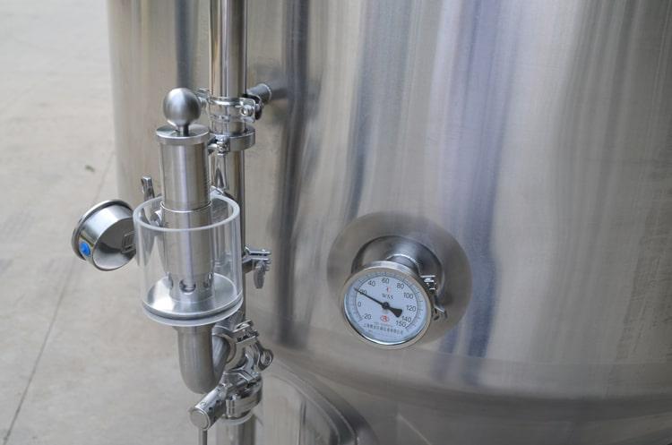 Pressure release valve&Pressure gauge&temperature meter