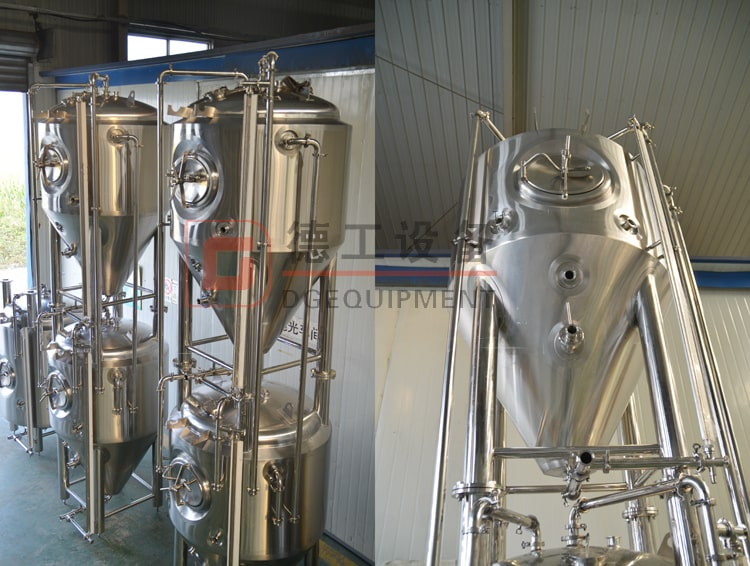stackable beer fermentation tank