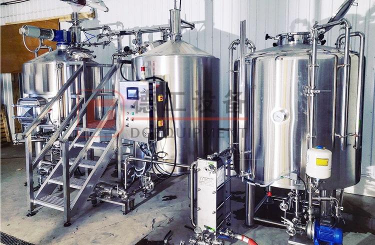 Nano hotel brewery equipment