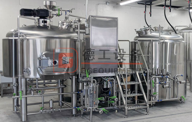 Craft freely combination brewhouse