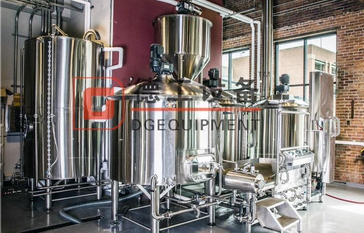 Commercial Beer Brewing Equipment