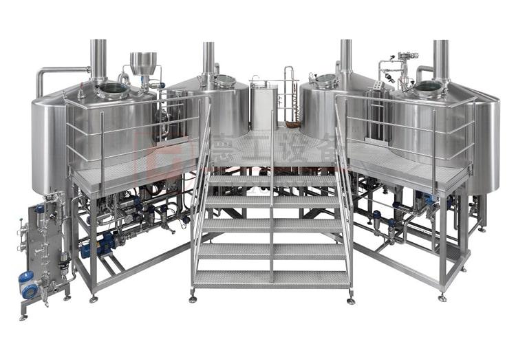 20HL 4 vessels beer brewing vessel for commercial using