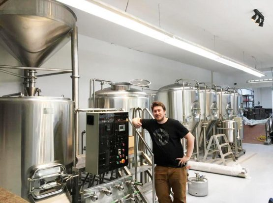 The 10bbl brewery system