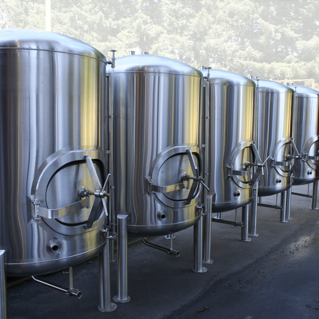 Beer maturation tank